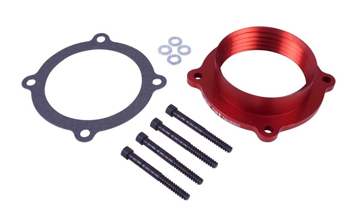 Airaid 300-637 PowerAid? Throttle Body Spacer Easy To Install with Basic Hand Tools