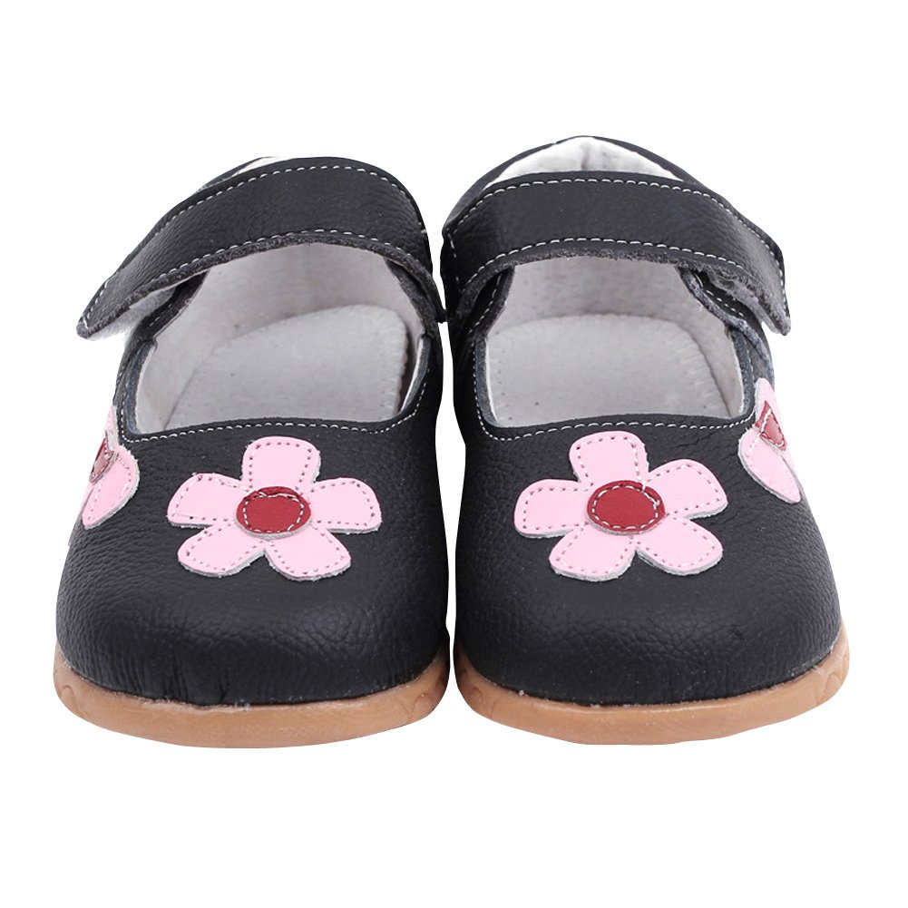 Toddler//Little Kid Tortor 1Bacha Kid Girl Flower Princess Leather Flat Shoes Mary Jane
