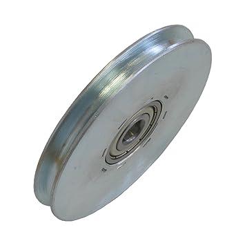 Seilrolle Stahl 84 mm Seil Ø 4 mm DO: Amazon.de: Baumarkt
