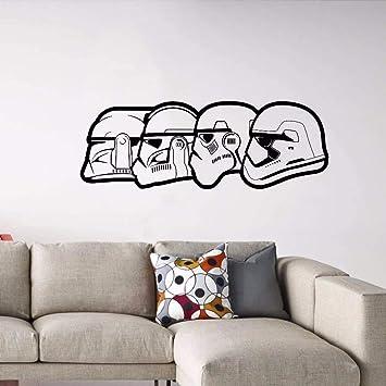 pegatina de pared 3d Star Wars Tatuajes de pared Storm Trooper ...