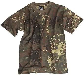 Mil-Tec EE.UU. Army T-Shirt por niños Camuflaje cualidad Ligero
