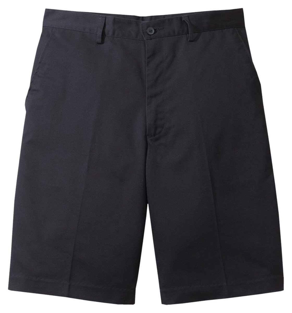 Ed Garments Men'S Flat Front Casual Chino Blend Short-Navy-52 by Edwards Garment