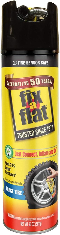 Fix-A-Flat Tire Sealant and Car/SUV Tire Inflator