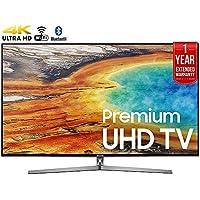 Samsung UN65MU9000FXZA 65 4K Ultra HD Smart LED TV (2017 Model) + 1 Year Extended Warranty (Certified Refurbished)