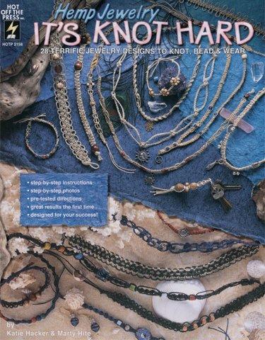 Jewelry Knot Hemp Its - Hot Off The Press-Hemp Jewelry It's Knot Hard 1 pcs sku# 656648MA