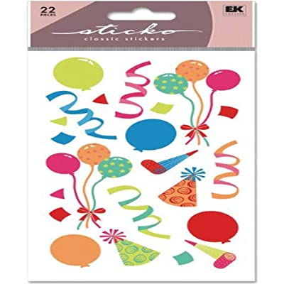 Sticko Classic Stickers, Party: Arts, Crafts & Sewing