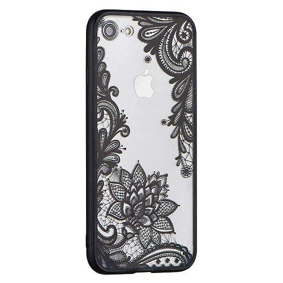 black floral iphone 7 case