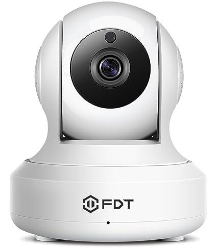 Cámara de vigilancia interior sin cable FDT HD Wifi Pan/Tilt Cá