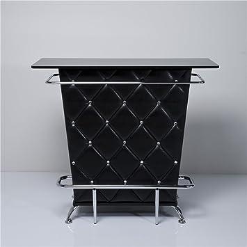 Cocktailbar Für Zuhause design theke bartresen bartisch haus tresen cocktailbar schwarz
