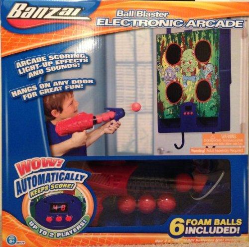 Banzai Ball Blaster Electronic Arcade