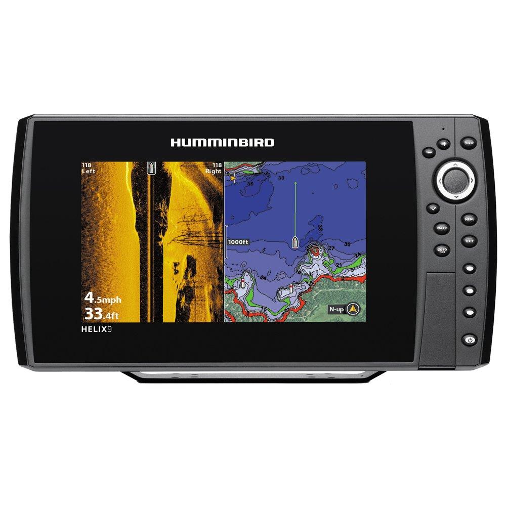 Humminbird 409950-1 Helix 9 SI 480x800 Sonar with Dual Beam GPS, 9'' by Humminbird
