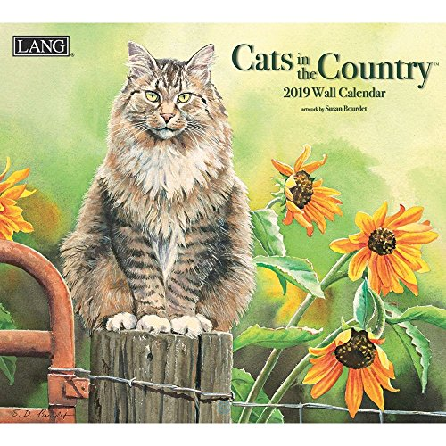 The LANG Companies Cats in The Country 2019 Wall Calendar (19991001899)
