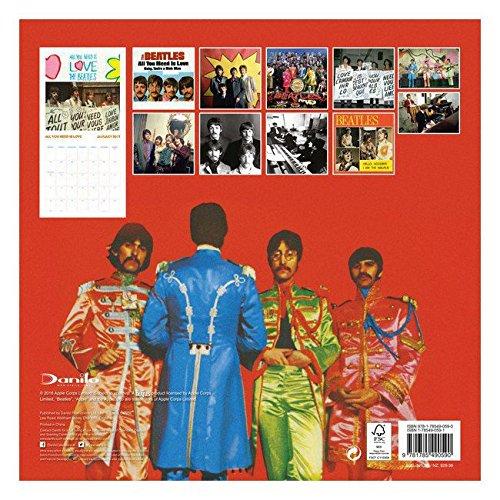 Calendario 2017 Beatles Collector + incluye un - Agenda de ...