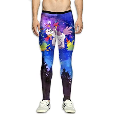 HFUEIMEN Rainbow Unicorn Men's Gym Training Pants Sports Trousers