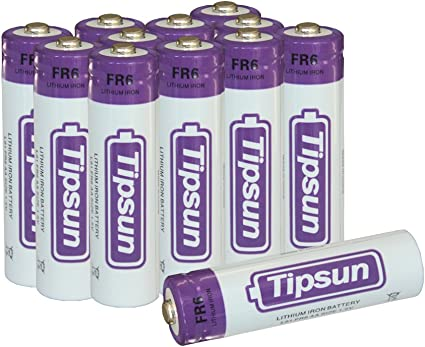 Amazon Com Aa Lithium Batteries Longer Lasting Energy 2900mah Lithium Cells 12 Pack Electronics