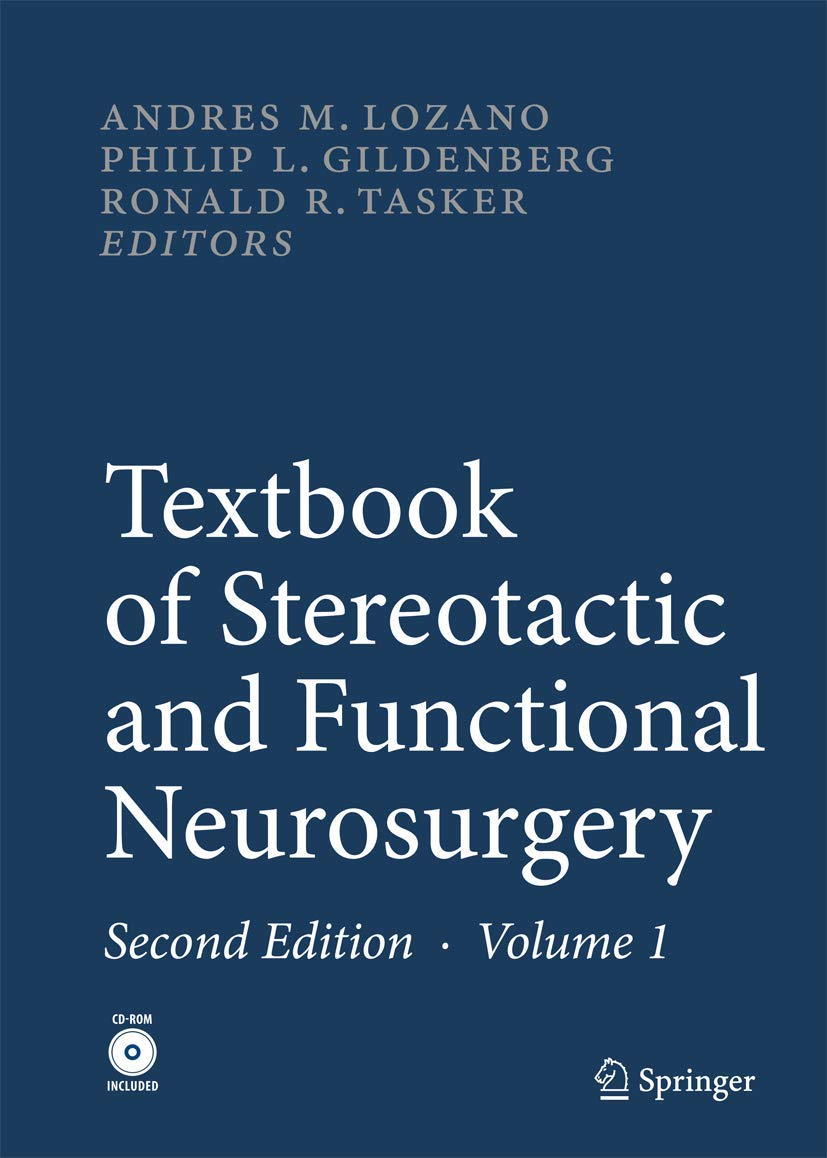 Textbook of Stereotactic and Functional Neurosurgery: Amazon ...