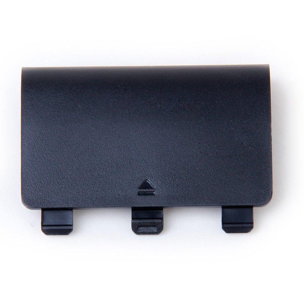 Pixnor Batteriefachklappe fü r den Controller, Schalenabdeckung, Ersatzteil fü r die Xbox One (schwarz).