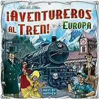 Asmodee Juego de Mesa Ticket to Ride ¡Aventureros Al Tren! Europa