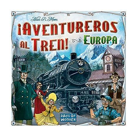 Aventureros Al Tren Europa Juego De Tablero Color No Talla