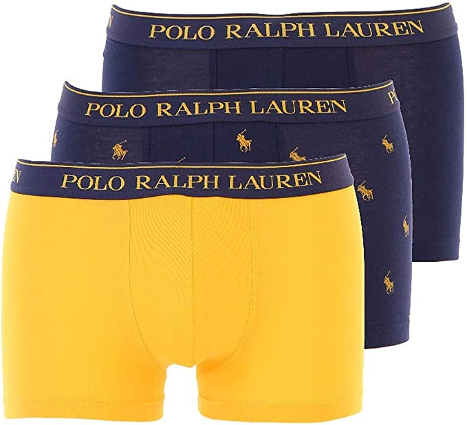 Polo Ralph Lauren Shorts para Hombres 3 Pack Classic Trunk, Solid ...