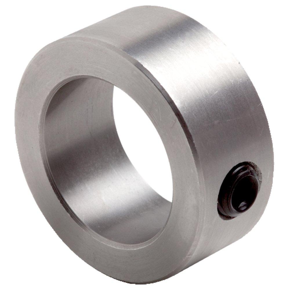 Climax Metals C-075-DTX20 Mild Steel Set Screw Collar, 3/4'' Bore, 1 1/4'' OD, 9/16'' Width, 5/16-18 x 1/4'' Set Screw (Pack of 20)