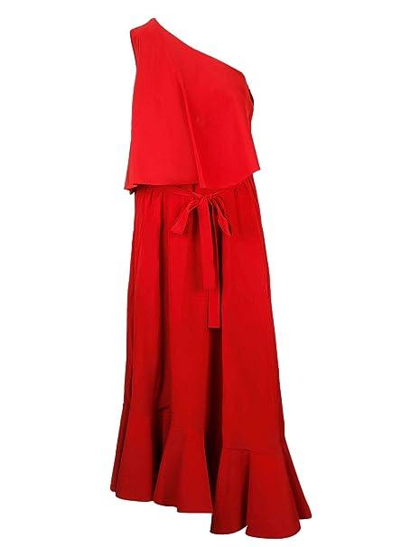 c46edaea3f2fd Stella McCartney Women's 559199SY2066403 Red Silk Dress: Amazon.ca:  Clothing & Accessories