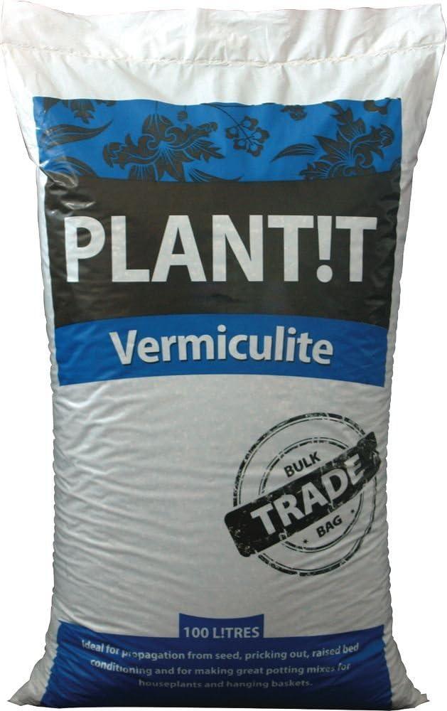 Plant it 02-070-005 Vermiculita Bolsa 100L, Gris, 95.00x47.00x23.00 cm