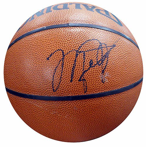 (Michael Jordan Autographed Signed Spalding Basketball Chicago Bulls Vintage Signature - Beckett BAS Certified)