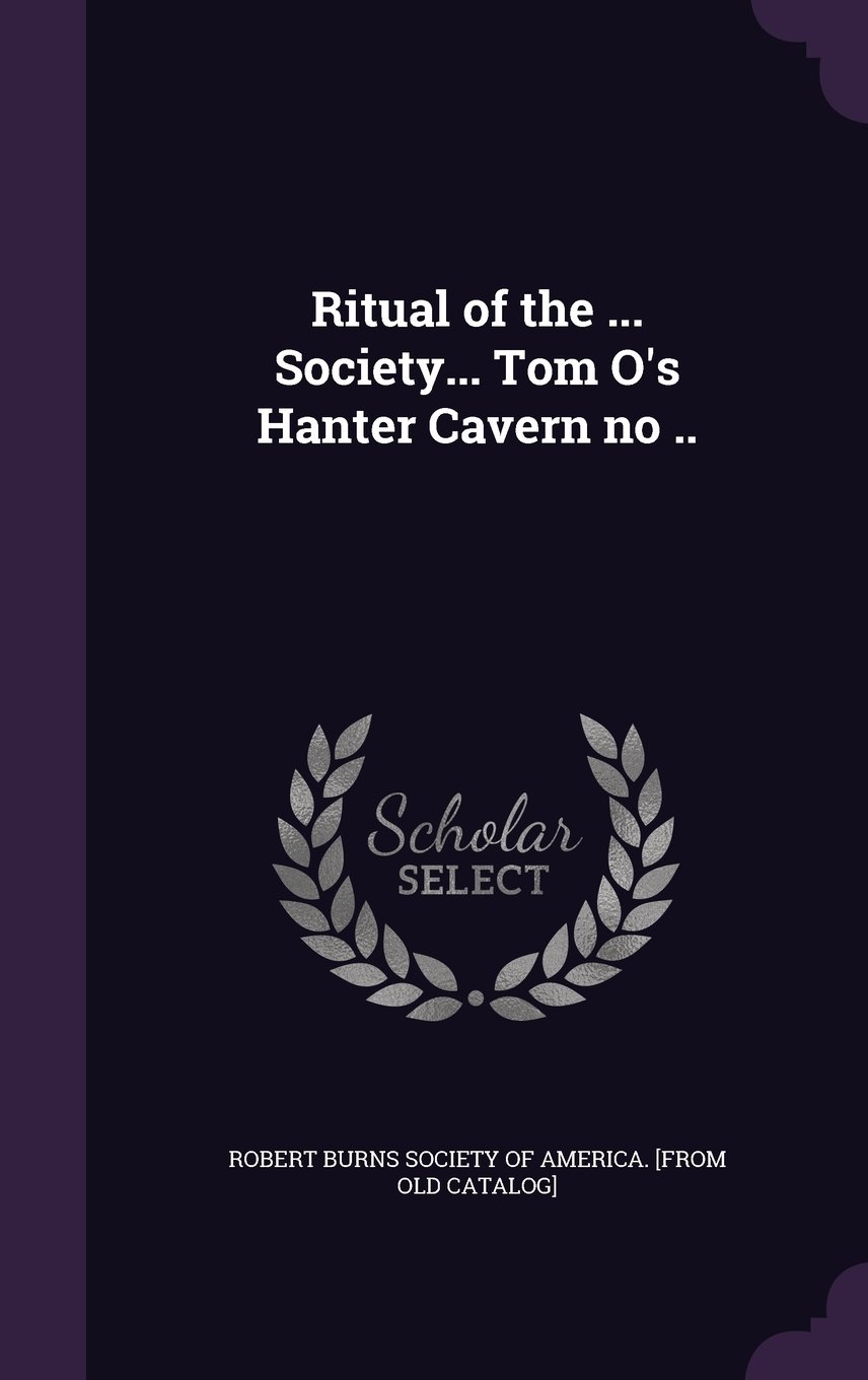 Read Online Ritual of the ... Society... Tom O's Hanter Cavern No .. pdf epub