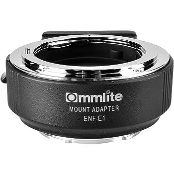 Commlite CM-ENF-E1 PRO Nikon Tamron Sigma F Mount Lens to Sony E Mount Electronic Autofocus Lens Adapter Aperture Control EXIF Transmitting for Sony A9 A6300 A6500 A7RIII A7RII A7II (V06 Version)