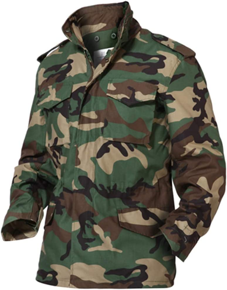 Army Mens Combat Jacket Tactical Military Trench Coats Casual Jackets Camouflage