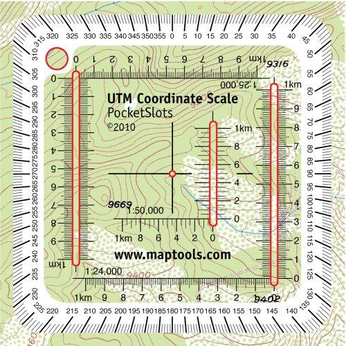 Pocket Sized UTM Slot Tool Rectangular