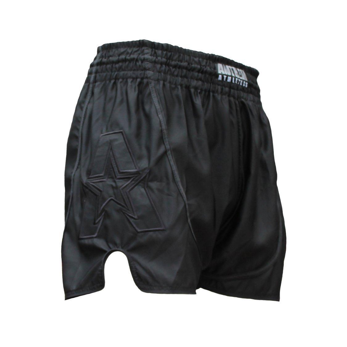 Anthem Athletics Infinity Muay Thai Shorts - 20+ Styles - Kickboxing, Thai Boxing - Black - XXX-Large
