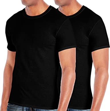6b22f612 Mens T Shirts Crew Neck Tee Short Sleeve Combed Cotton Tees Pack of 4 T- shirts at Amazon Men's Clothing store: