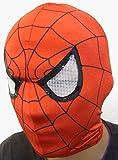 ヒーローマスク スパイダーマン レッド 赤 フリーサイズ