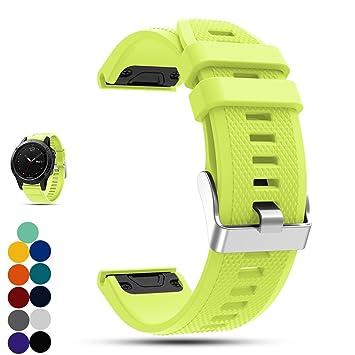 Correa de repuesto para reloj Garmin Fenix 5 Multisport GPS, de la marca Ifeeker.