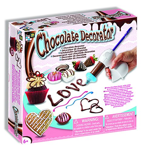 AMAV Toys Chocolate Decorator - Create Patterns Kit Multi Color Chocolate Kit