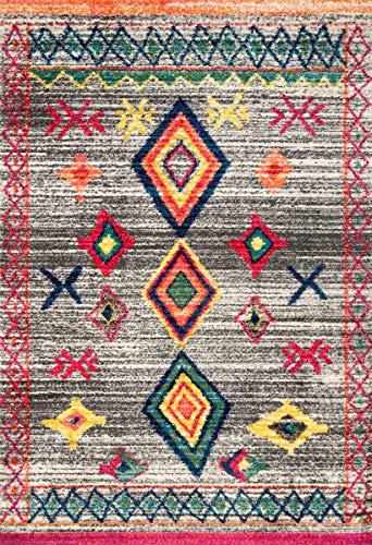 nuLOOM Nizhoni Tribal Shag Rug, 4
