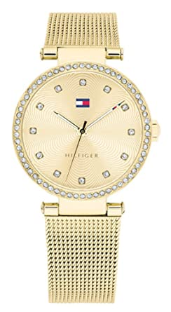 2687ba9b Image Unavailable. Image not available for. Color: Tommy Hilfiger Gold ...