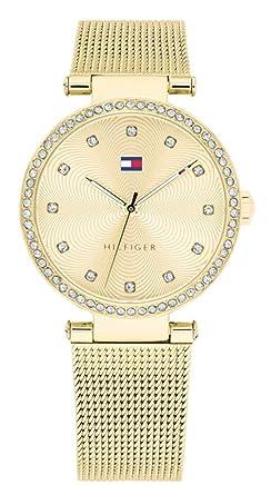 Tommy Hilfiger Reloj Análogo clásico para Mujer de Cuarzo con Correa en Acero Inoxidable 1781864: Amazon.es: Relojes