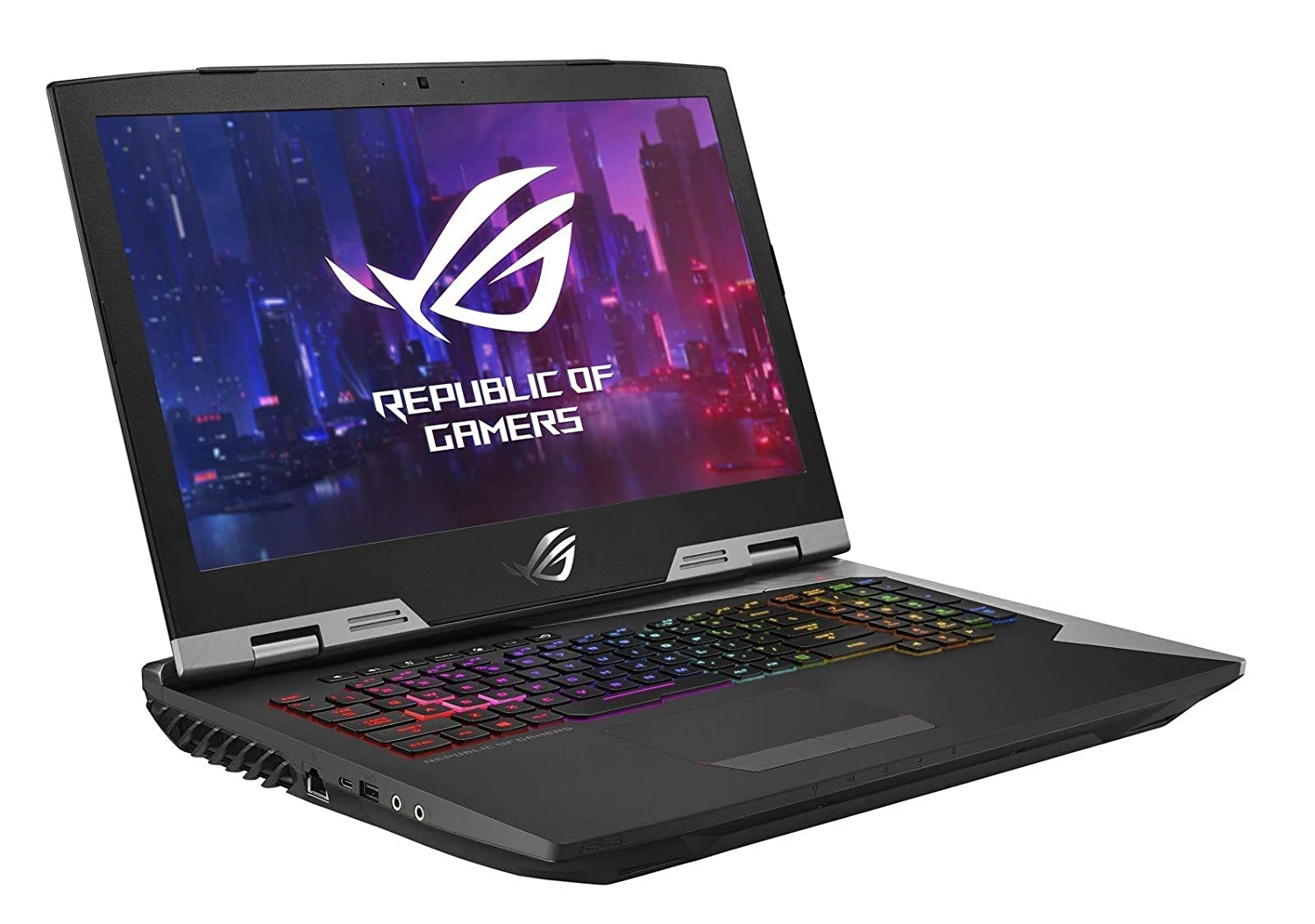 ASUS ROG G703GX-XB76 i7-9750H, 32GB RAM, 512GB NVMe SSD 1TB SSHD, NVIDIA RTX 2080 8GB, 17.3 Full HD 144Hz 3ms, Windows 10 Pro VR Ready Gaming Notebook