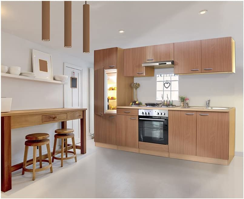 Respekta LBKB270BBMA - Muebles de cocina (270 cm, madera de haya): Amazon.es: Hogar