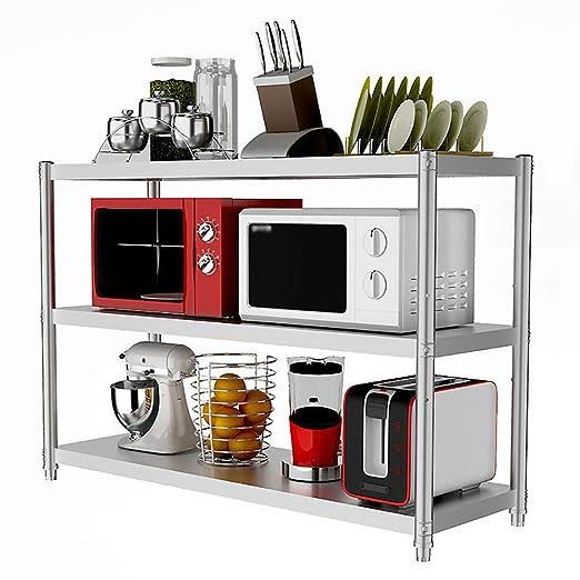 Shelf Rack de Cocina de 3 Niveles Utilidad para Horno de ...