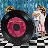 Giant Record Standee 1950's Party Prop