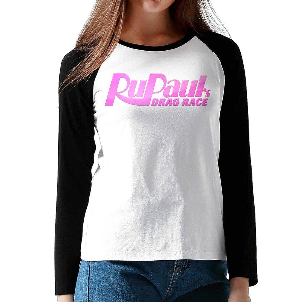 HROSE American Reality TV Series Women Athletic Sleeve Raglan Shirts