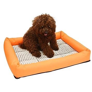 eizur primavera verano perro mascota perro cojín Mat Colchón Cama Casa la humedad maíz Kernels Pad alfombrilla de cama reutilizable lavable resistente ...