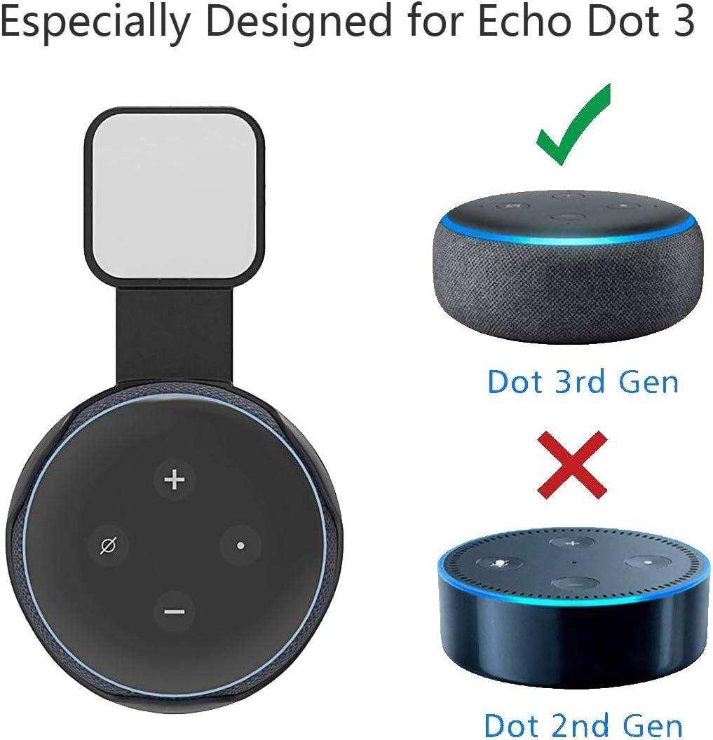 Leeba Wandhalterung Fur Echo Dot 3 Generation Ohne Amazon De Computer Zubehor