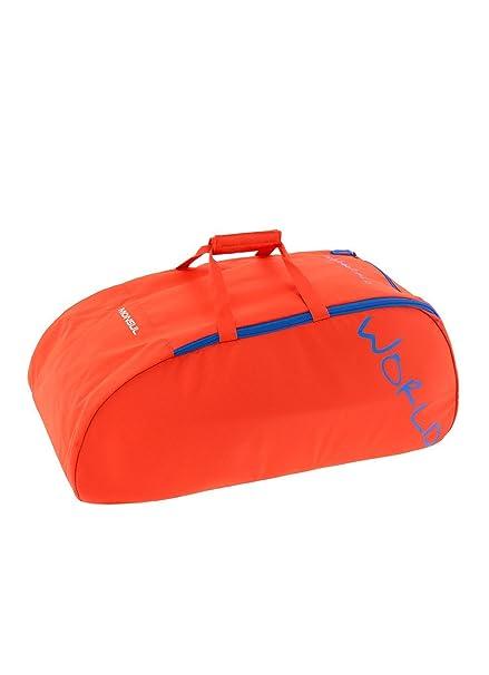 TRANGO Mochila Monsul, Unisex Adulto, Naranja (Azul Imperial), 36x24x45 cm (