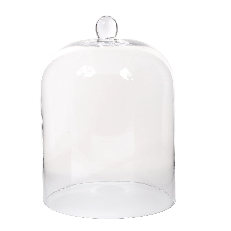 Decorazioni Mica Amelie campana, Vetro, Trasparente, 24.5x 24.5x 35cm Edelman 017987