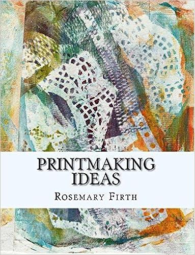 Experimental printmaking at home Printmaking ideas